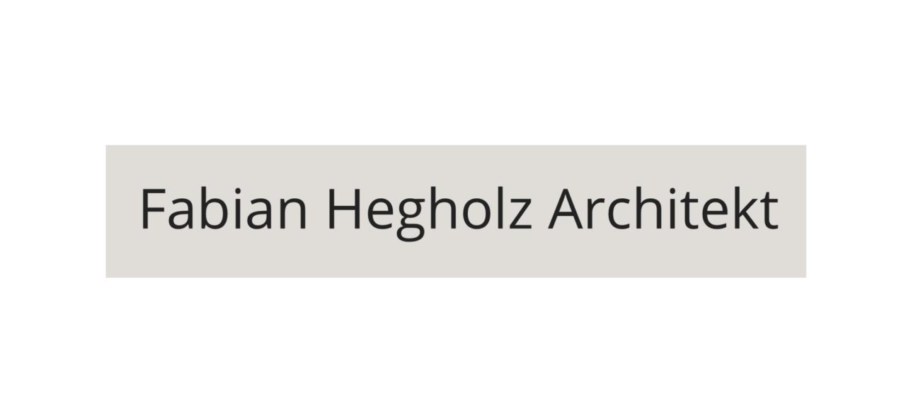 Fabian Hegholz Architekt